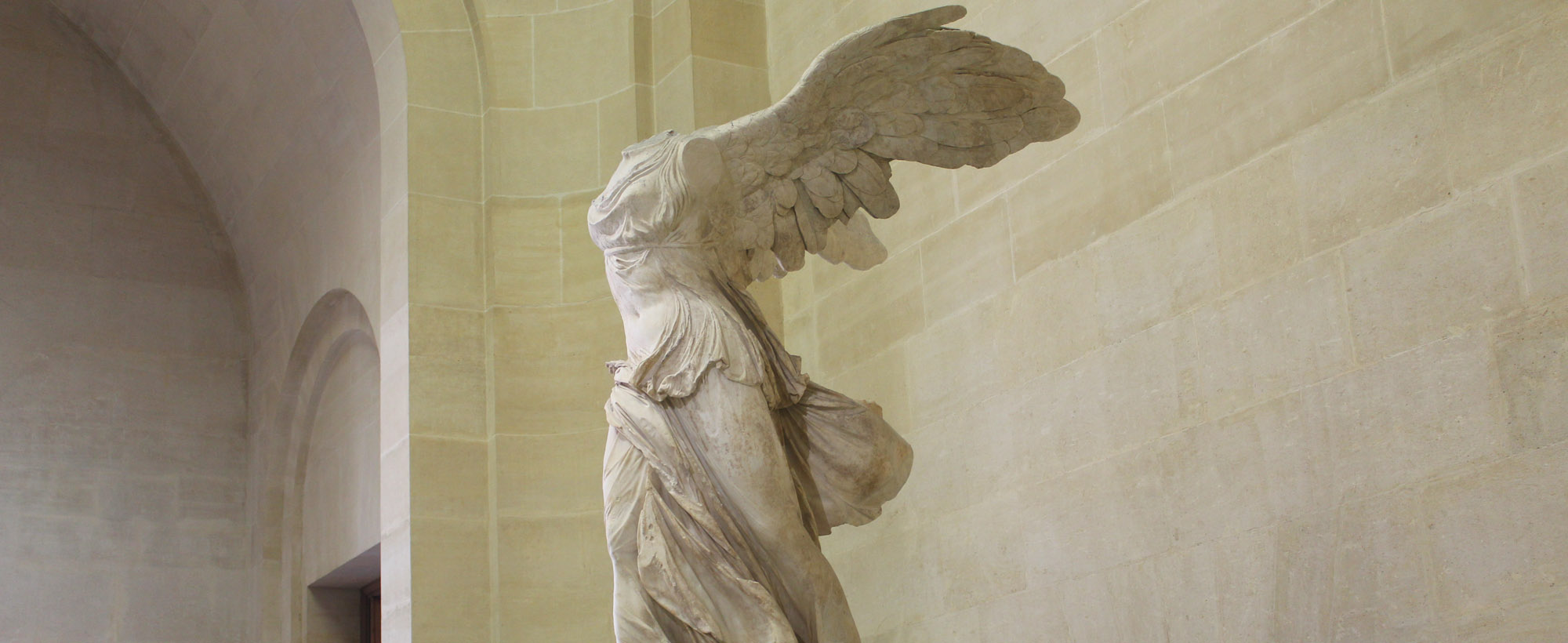 The Winged Victory of Samothrace at The Louvre