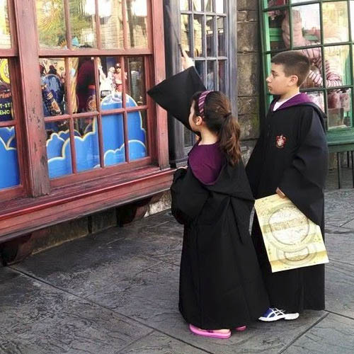 A trip to Wizarding World of Harry Potter